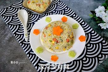 原味蛋炒饭的做法
