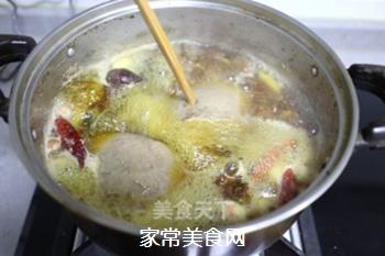 凉拌酸辣卤猪肝的做法步骤:4
