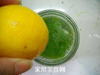 南眉黄瓜汁的做法步骤:7
