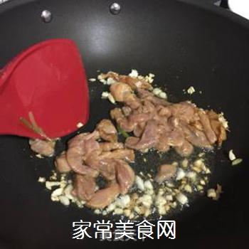 青瓜彩椒炒肉丝的做法步骤:5