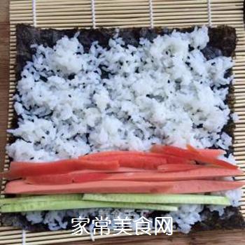 什锦紫菜包饭的做法步骤:6