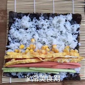 什锦紫菜包饭的做法步骤:7