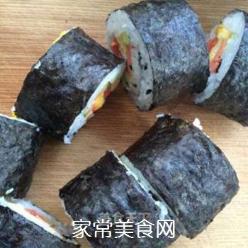 什锦紫菜包饭的做法步骤:9