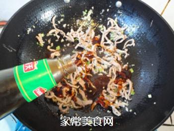 蚝油肉丝海带的做法步骤:8