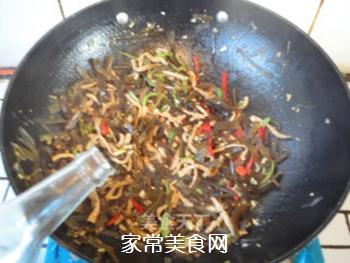 蚝油肉丝海带的做法步骤:11