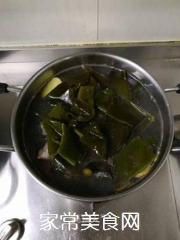 海带脊骨汤的做法步骤:6