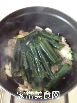 五花肉酥海带的做法步骤:7