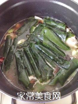 五花肉酥海带的做法步骤:8