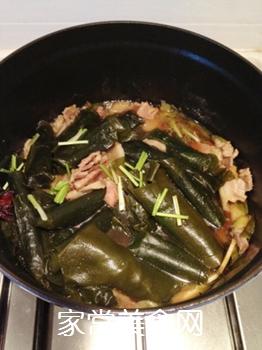 五花肉酥海带的做法步骤:9