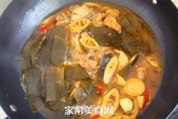 香浓麻辣--竹笋海带炖排骨的做法步骤:12