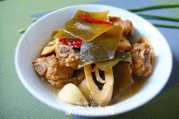 香浓麻辣--竹笋海带炖排骨的做法