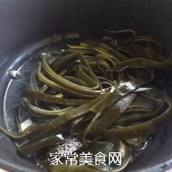 白菜海带素锅的做法步骤:4