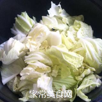 白菜海带素锅的做法步骤:5