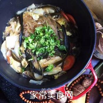 白菜海带素锅的做法步骤:10