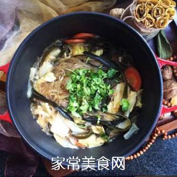 白菜海带素锅的做法步骤:11