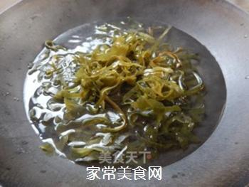 拌豆腐皮海带丝的做法步骤:5