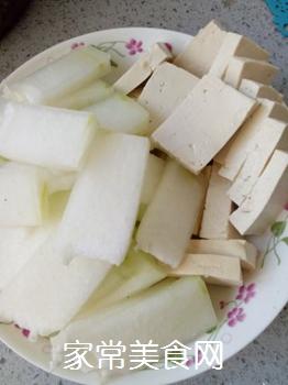 冬瓜海带炖豆腐的做法步骤:3