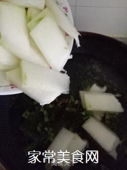 冬瓜海带炖豆腐的做法步骤:7