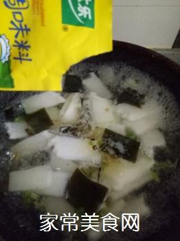 冬瓜海带炖豆腐的做法步骤:8