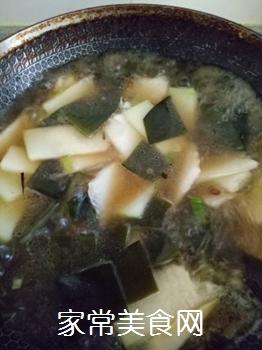冬瓜海带炖豆腐的做法步骤:10