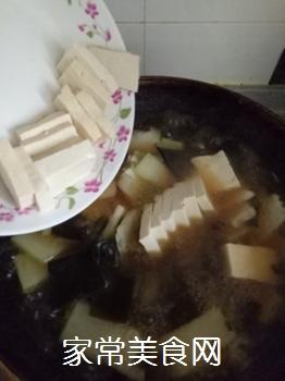 冬瓜海带炖豆腐的做法步骤:11