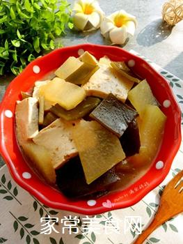 冬瓜海带炖豆腐的做法