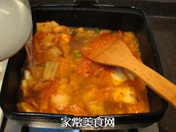 韩风辣味豚肉锅的做法步骤:12