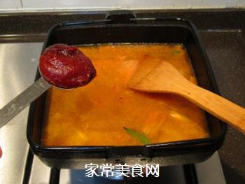 韩风辣味豚肉锅的做法步骤:13