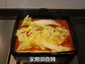韩风辣味豚肉锅的做法步骤:15