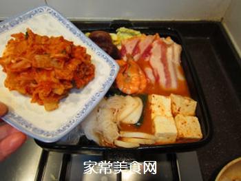 韩风辣味豚肉锅的做法步骤:18