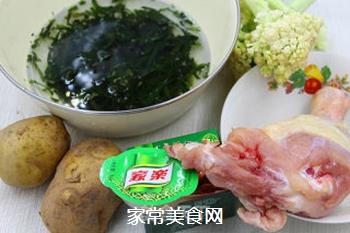 #信任之美#鸡肉杂蔬一锅炖的做法步骤:1