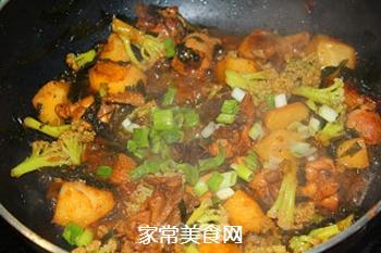 #信任之美#鸡肉杂蔬一锅炖的做法步骤:12