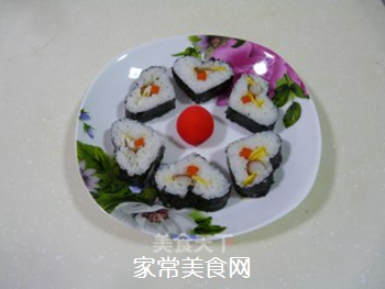 花样寿司的做法步骤:16