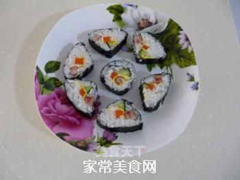花样寿司的做法步骤:17