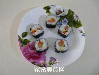 花样寿司的做法步骤:18