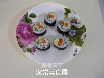 花样寿司的做法步骤:19