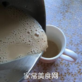 自制港式红豆奶茶(豆浆机板)的做法步骤:7