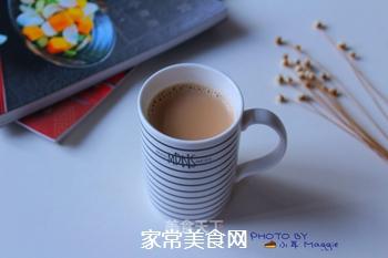 自制港式红豆奶茶(豆浆机板)的做法