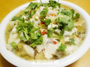 酸菜鱼的做法步骤:8
