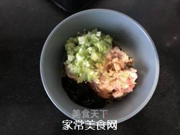 #花样美食#―虾仁蛋包饺的做法步骤:2