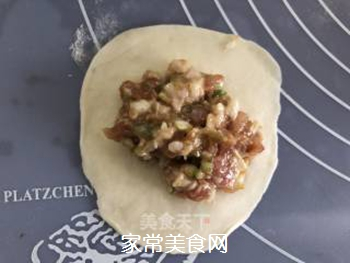 #花样美食#―虾仁蛋包饺的做法步骤:7