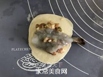 #花样美食#―虾仁蛋包饺的做法步骤:8