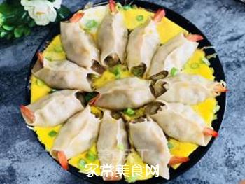 #花样美食#―虾仁蛋包饺的做法步骤:15