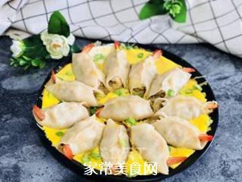 #花样美食#―虾仁蛋包饺的做法步骤:16