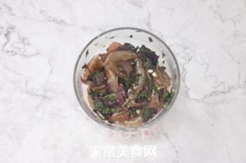 紫苏蒸虾的做法步骤:2