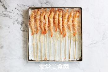 海盐烤海虾的做法步骤:5