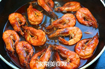 油焖大虾的做法步骤:12