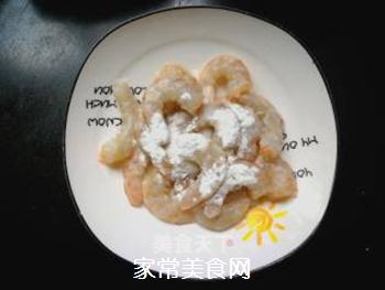 辣韭炒虾仁的做法步骤:2