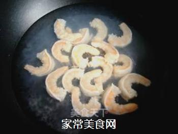 辣韭炒虾仁的做法步骤:4