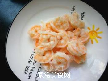 辣韭炒虾仁的做法步骤:5